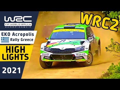 WRC2 2021 ラリー・ギリシャ Day3ハイライト動画