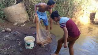 Amazing Fishing at Pailin Province - Cambodia Traditional Fishing - Khmer  Net Fishing (Part 112)