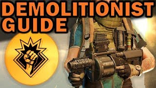The Division 2: DEMOLITIONIST GUIDE - Why Pick this Specialization?