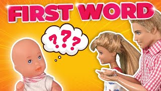 Barbie   Tommy's First Word | Ep.160