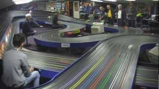 35mph Slot Cars with Downforce