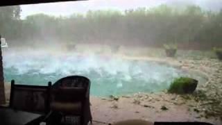 【超衝撃】これぞギネス世界最強の雹(ヒョウ)!! Amazing Storm!!