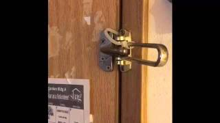 Hotel Latch Entry