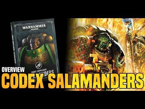 BoLS Overview | Salamander Codex Supplement & Data Cards | Warhammer 40,000