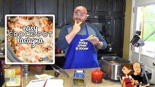 Easy Crock Pot Lasagna Recipe: Cookin Cris Dishes