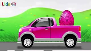 Egg Factory - Egg Surprise Kids Toys Cars | Lido TV