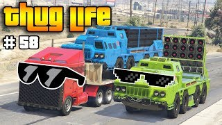 GTA 5 ONLINE : THUG LIFE AND FUNNY MOMENTS (WINS, STUNTS AND FAILS #58)