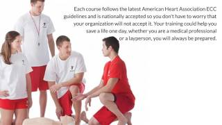 CPR certification First Aid and AED Training Online