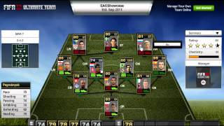 FIFA 12 Ultimate Team - Team of the Week - 7th March
