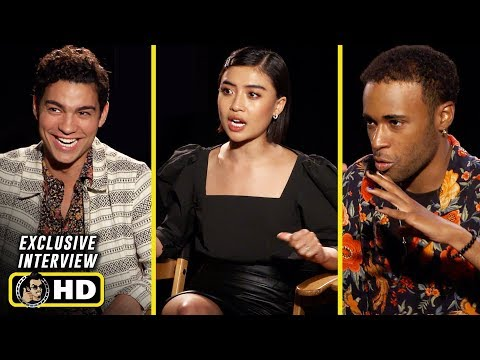 Brianne Tju , Khylin Rhambo & Davi Santos Interview for 47 Meters Down: Uncaged
