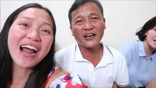 Vlog 257 ll Tụ Họp Cả Nhà Ta Cùng Hát, Chồng Mỹ Cũng Máu Hết Mình Với Bài Hát Tiếng Việt