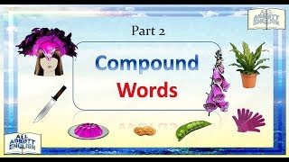 Animated English Lesson: More Compound Words