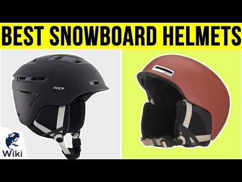 10 Best Snowboard Helmets 2019