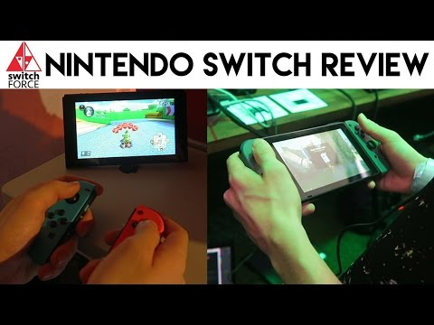 Nintendo Switch Review - IN-DEPTH IMPRESSIONS AND HANDS ON!!