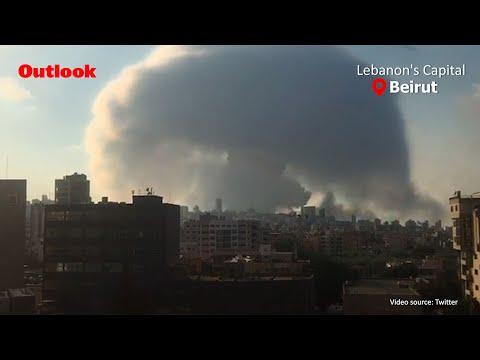 लेबनान की राजधानी बेरूत में भीषण विस्फोट, 70 से अधिक लोगों की मौत