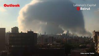 Massive Explosion Shakes Lebanon's Capital Beirut, Several Injured