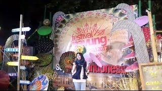 Begini Kemeriahan Festival Payung Indonesia 2017 di Pura Mangkunegaran