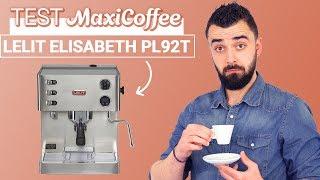 LELIT ELIZABETH PL92T | Machine expresso compacte | Le Test MaxiCoffee