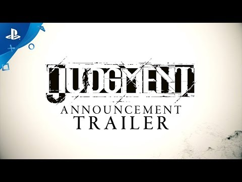 Judgment - Announcement Trailer | PS4 thumbnail
