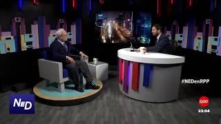 """Nada está dicho   César Hildebrandt parte 2 """"ping pong"""" con Renato Cisneros"""