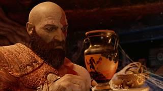 God of War 4 - Kratos Finds Spartan Relics (God of War 2018) PS4 Pro