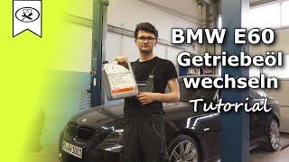BMW E60 3.0 Getriebeöl wechseln     Change gear oil    Tutorial     VitjaWolf    HD