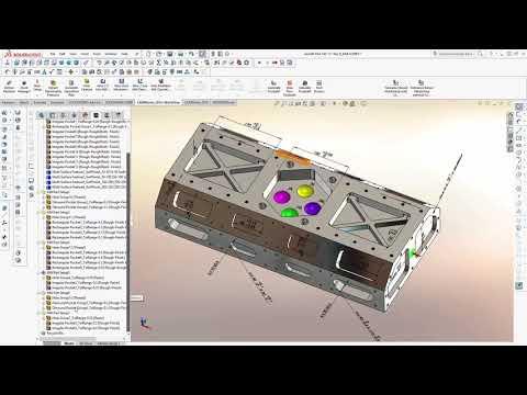 CAMWorks - Tolerance Based Machining (TBM)