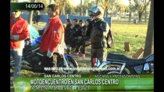 preview picture of video 'MOTOENCUENTRO EN SAN CARLOS CENTRO'