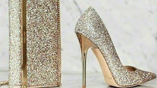 احذية براقة لعروس 2018 💍كونى منفردة ومتالقة
