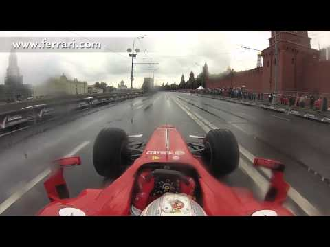 On Board Lap with Ferrari F1 Race Car