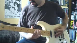 Joe Satriani - Can't Slow Down - guitar cover - full HD