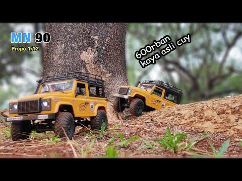 Rp 600rban Rc Rock Crawler Mobil Remote PERSIS NYATA - MN 90 1/12