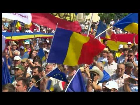 Χιλιάδες Μολδαβοί ζητούν επανένωση με τη Ρουμανία