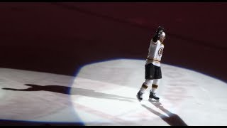 Jarome Iginla - Third Star, Iggy Chants & Standing Ovation - Bruins @ Flames 12/10/2013
