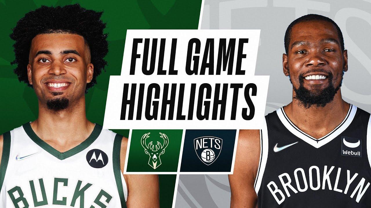 BUCKS at NETS | NBA PRESEASON FULL GAME HIGHLIGHTS | October 8, 2021