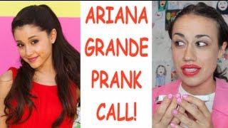 MIRANDA PRANK CALLS ARIANA GRANDE!
