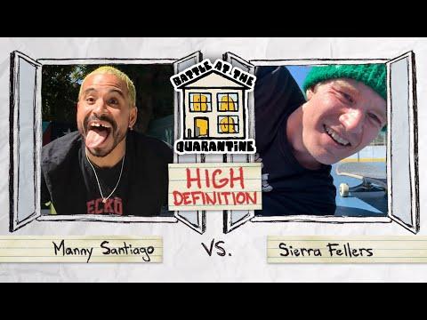 Manny Santiago Vs. Sierra Fellers   BATQ Round 2