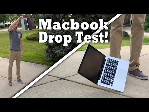 , title : 'Apple Macbook Drop Test! Will it survive from 3 & 5 feet drop test?!'