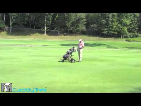 Caddytrek Robotic Golf Cart brought to you by A Good Golf Trek LLC Rev1