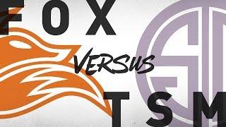 FOX vs. TSM - Week 7 Day 2 | NA LCS Summer Split | Echo Fox vs. TSM(2018)