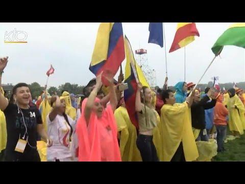 Les jeunes belges des JMJ accueillent le pape