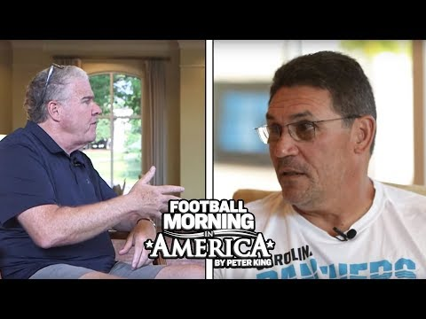 Ron Rivera's FULL INTERVIEW with Peter King at Panthers Training Camp | NBC Sports