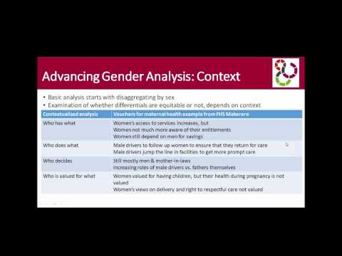Video: Learn more about health systems, gender, and ethics