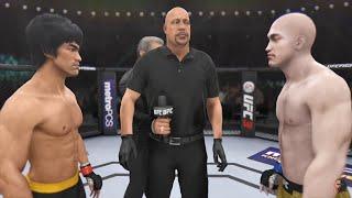 Bruce Lee Vs Yi Long | EA Sports UFC 3