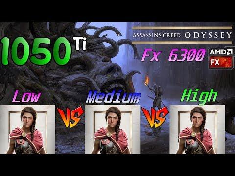 Assassin's Creed Odyssey | AMD FX-6300 & Radeon R7 260X OC 2GB