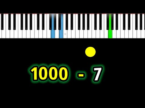 fem.love – 1000-7   Piano_Tutorial   Разбор   КАРАОКЕ   НОТЫ + MIDI