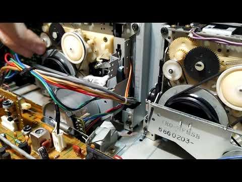 Ремонт деки KENWOOD KX-64W Не включается кнопка записи 2 часть