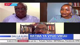 Ratiba ya masomo katika vyuo vikuu wakati huu wa janga la COVID-19 | DAU LA ELIMU