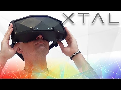 XTAL VR Review: The Best Wide FOV VR Headset Available? XTAL First Look & Review
