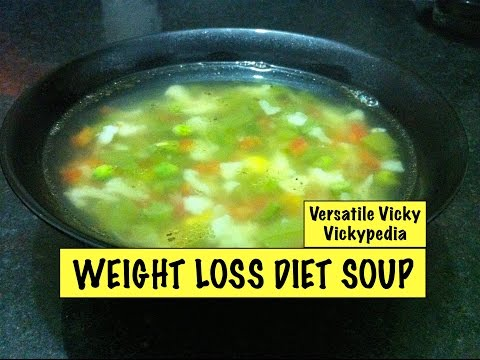 Video Lose Weight Fast with Weight Loss Diet Soup Veg Weight Loss Fat Burning Soup Recipe